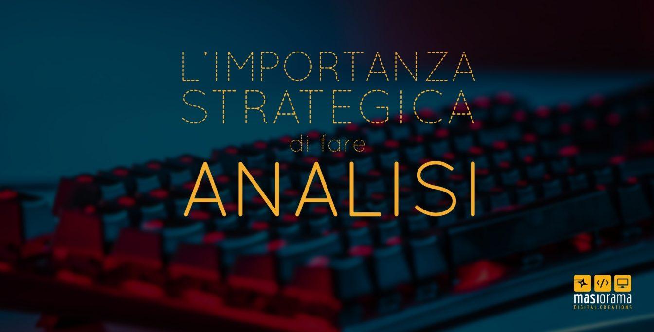 analisi - Masiorama Digital Creations