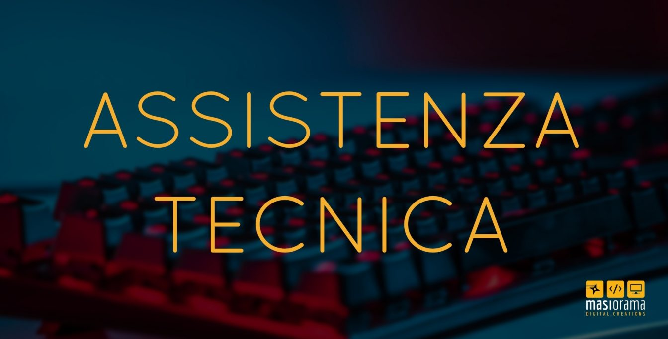 Assistenza tecnica web - Masiorama