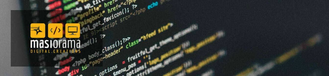 Sviluppo siti web - Masiorama Digital Creations