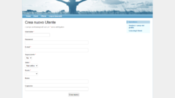 Almaenergia gestionale loc user admin create
