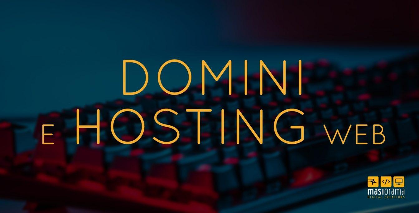 Dominio e Hosting web con Masiorama Digital Creations