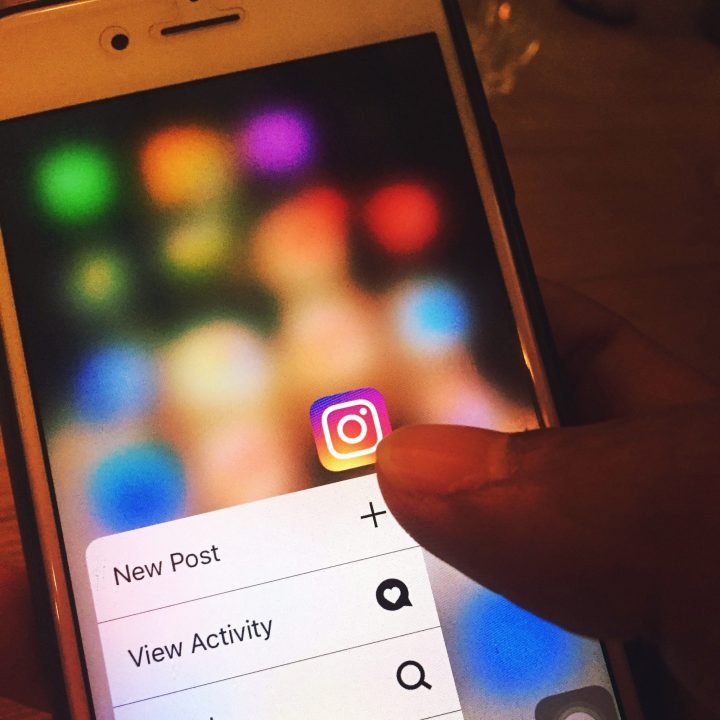 Instagram on phone - Masiorama Digital Creations