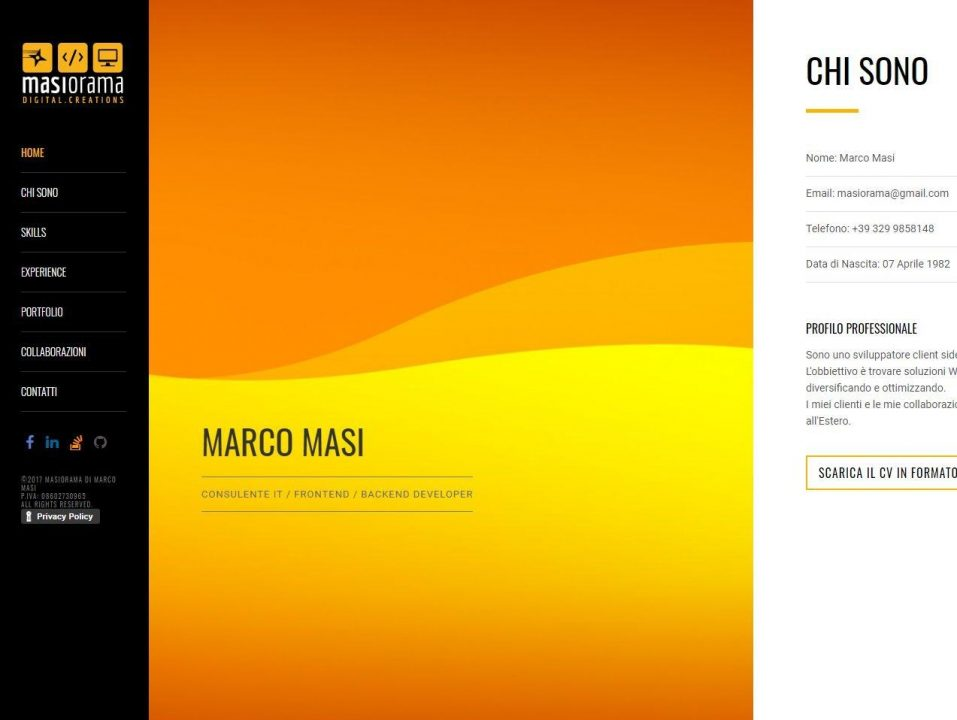 Masiorama website 2014