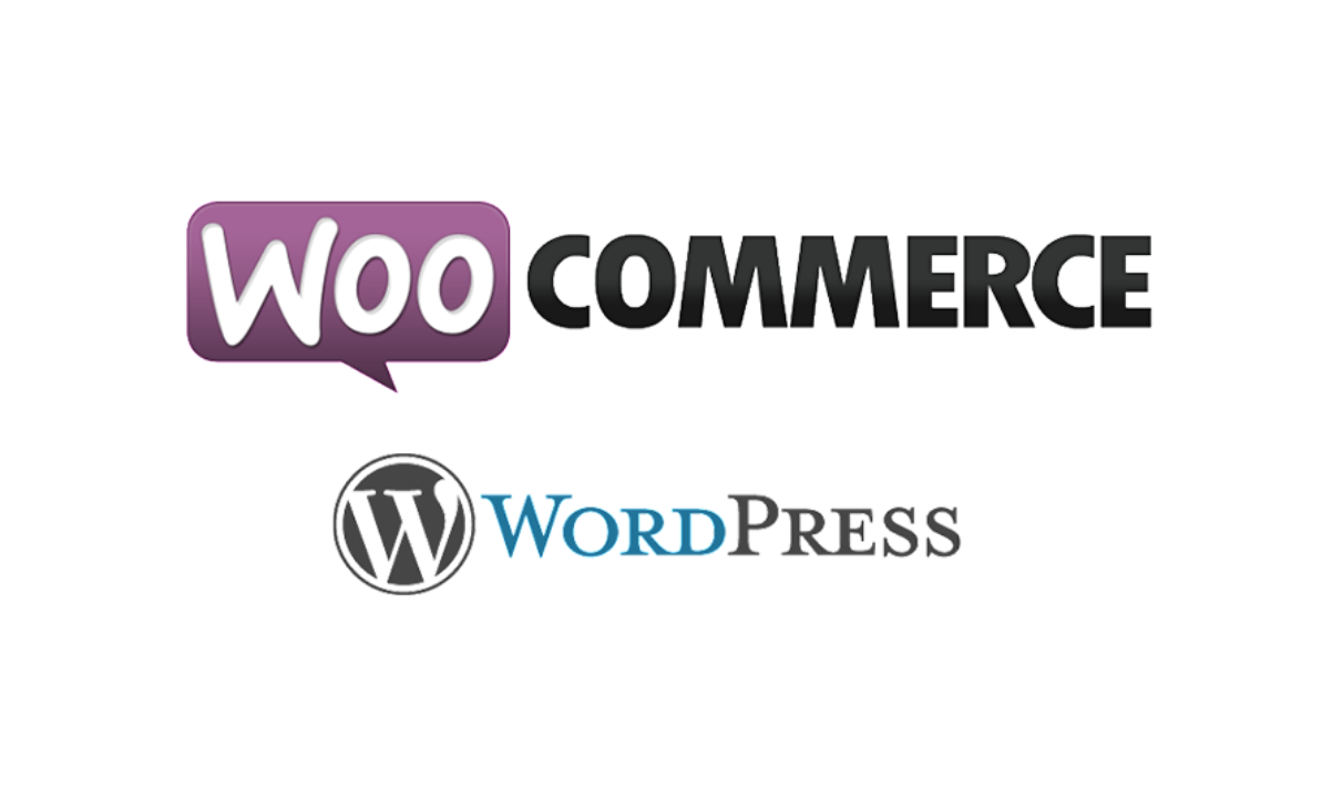 Loghi WooCommerce e WordPress