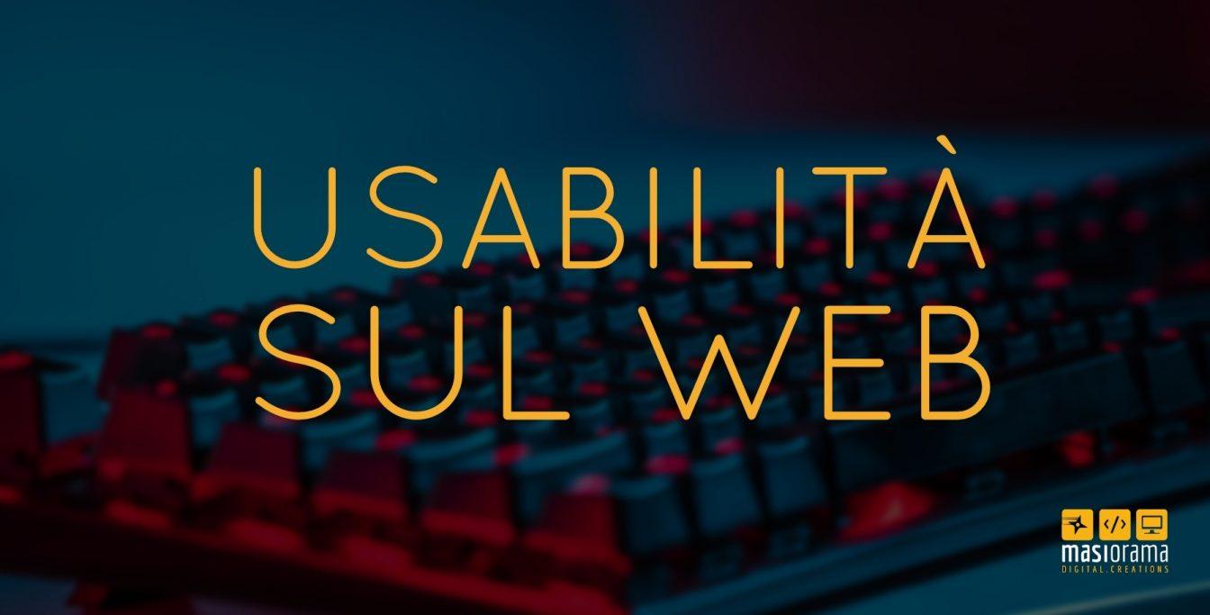 Usabilità sul web