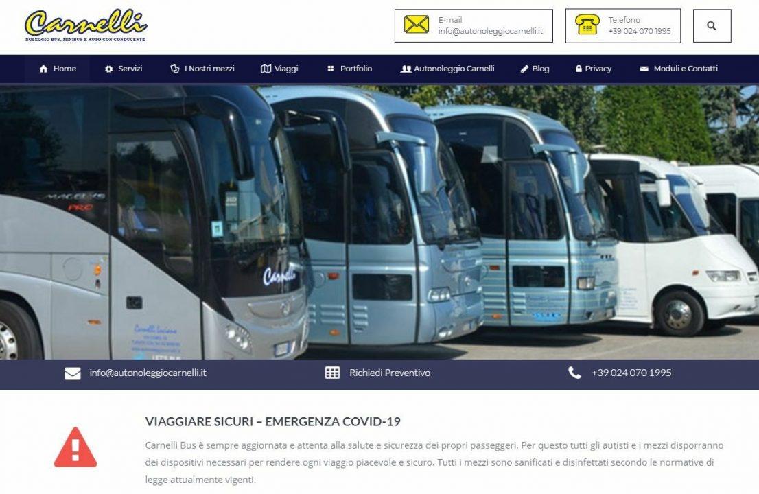 Migrazione sito web Autonoleggio Carnelli