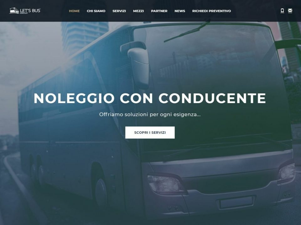 Homepage Let's Bus