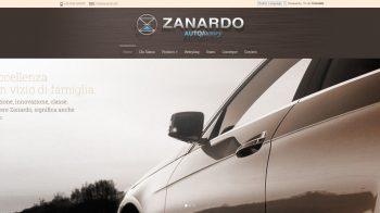 Homepage di Zanardo Autofactory