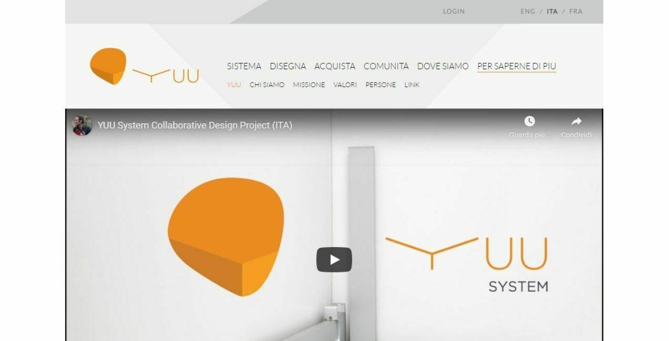 Modifica sito web Yuu