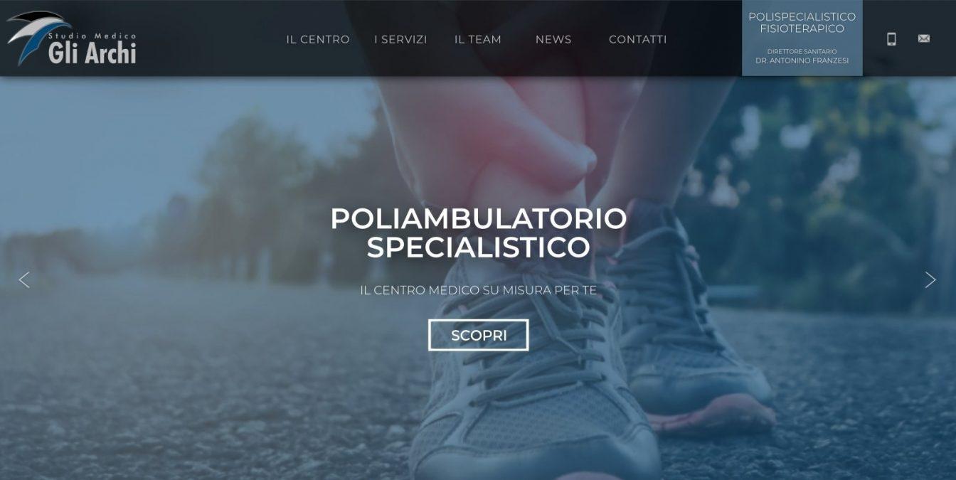 Sito web Studio Medico Gli Archi.