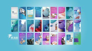 Video Wall per Studio Medico Gli Archi