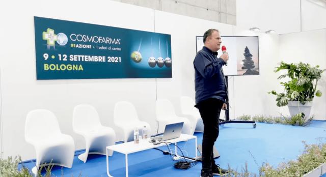 Dario Melpignano a cosmofarma 2021