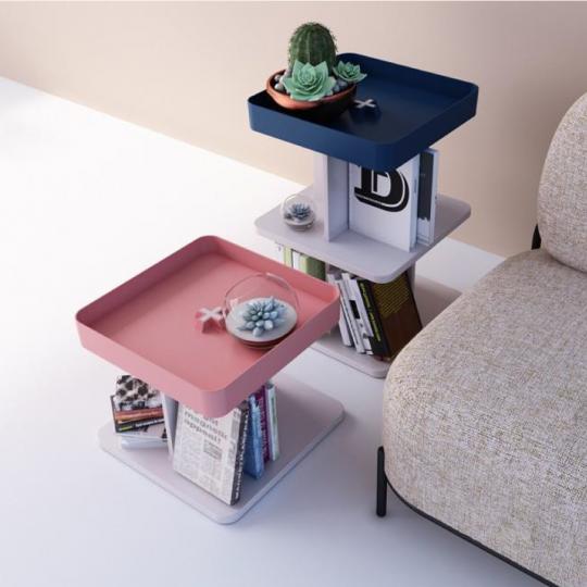 Tavolino Cube Table 02 - ambientata